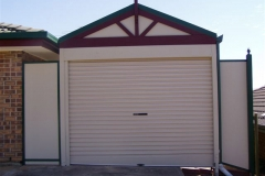 Straight Gable Garage