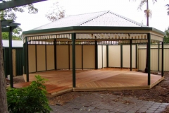 Free Standing Gazebo with Decking