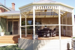 Gazebo Feature, Deck, Privacy Screen & Stainless...