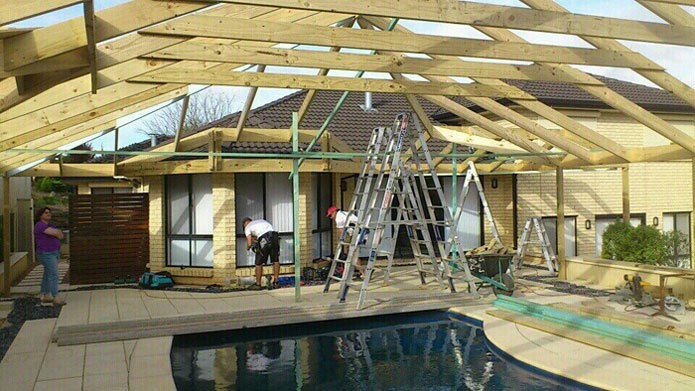 Custom Built Timber Pergolas in Adelaide